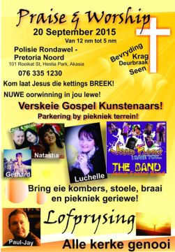 Great expectations for Pretoria praise and worship and braai event