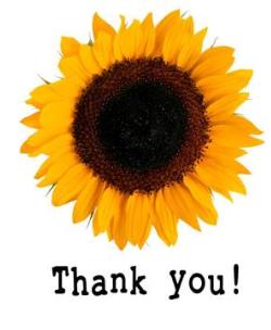 thankyousunflower