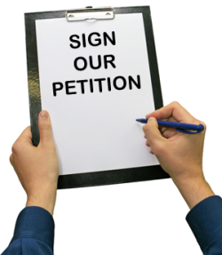 Appeal to sign right-to-life petition