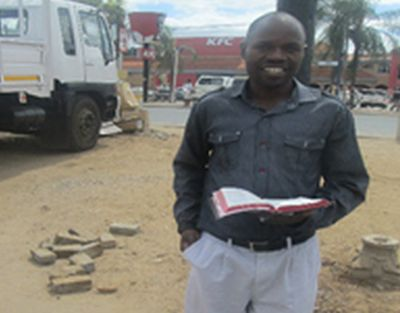 Limpopo taxi rank pastor wins souls on streets