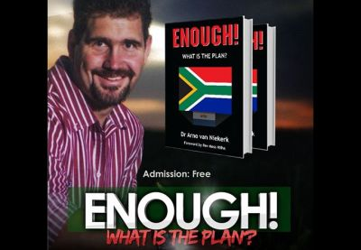 Book urging spiritual cure for SA lines up with calls to turn back to God