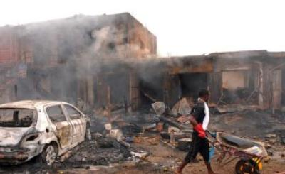 Nigerian girl suicide bomber aborts mission to prevent deaths