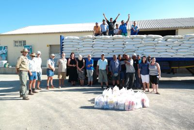 Radio listeners donate R2,1m worth of livestock feed to farmers in need