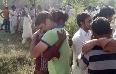 Pakistan mourners