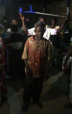 healing africa togo walking