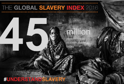 Nearly 46 million trapped in modern slavery — report