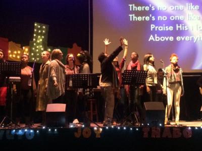 joyous worship