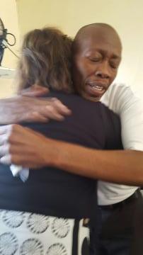 reconciliation hug