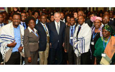 Netanyahu thanks Christian friends during landmark Africa trip