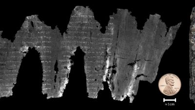 Bible breakthrough: Scientists unlock secrets of burned Hebrew scroll