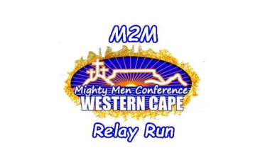 Mighty Men running from top of Table Mountain to MMC at Malmesbury