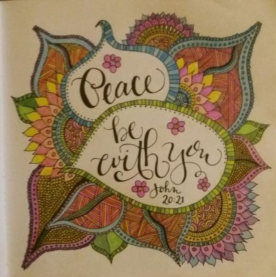 Whatever is Lovely: A Coloring Book for Reflection and Worship — Book review