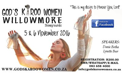 God's Karoo Women Conference to restore lives