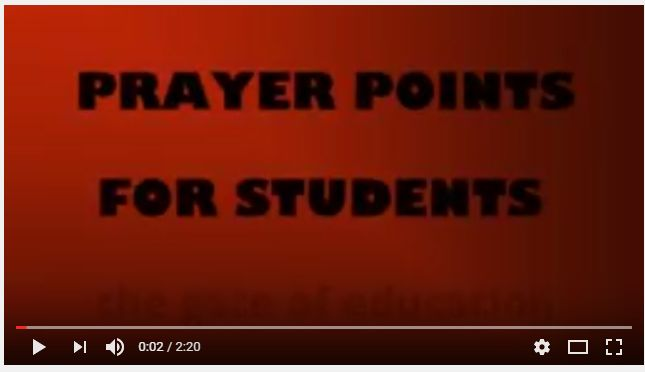 WATCH: Prayer strategy for Christian students on campus