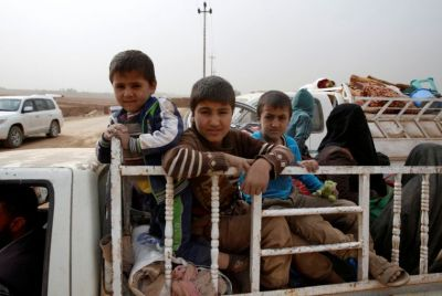 Children who fled ISIS in Mosul 'too terrified to speak'