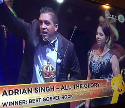 Award winning Christian rocker Adrian Sing says passion for Jesus is the key