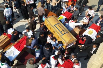 Cairo cathedral bombing: 25 killed, 49 injured