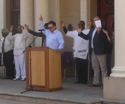 Mayor calls prayer service for rain at Port Elizabeth City Hall