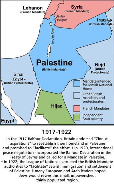 Balfour map