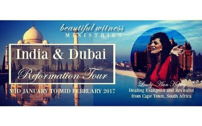 Lindy-Ann India Dubai poster
