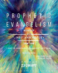 Lindy-Ann India prophetic poster