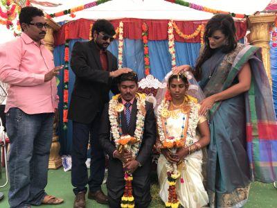 Lindy-Ann India wedding
