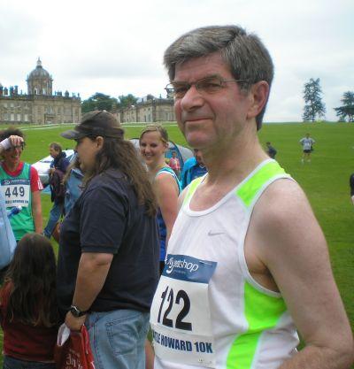 Charles running
