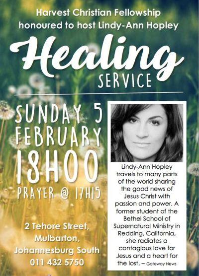 Lindy-Ann Healing poster