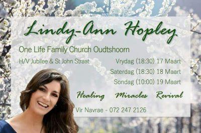 Lindy-Ann Oudtshoorn poster