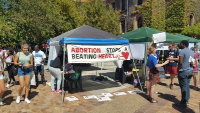 Pro-life stall attacked at UCT