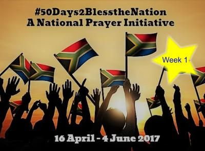 50 days of blessing the nation through prayer: Week 1 — Alf James