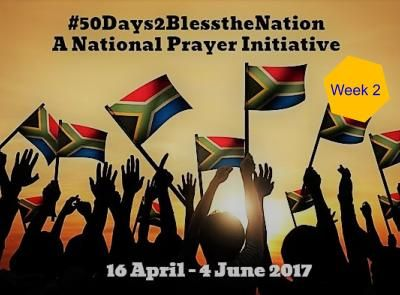 50 days of blessing the nation through prayer: Week 2 — Alf James