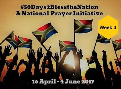 50 days of blessing the nation through prayer: Week 3 — Alf James