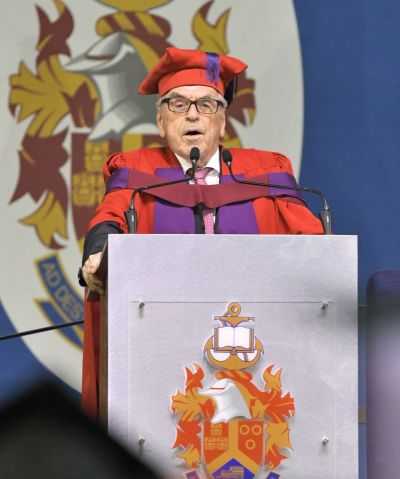 University of Pretoria awards honorary doctorate to renowned theologian