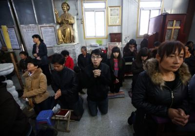 chinese Christians detained