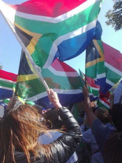 via south africa