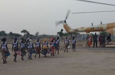 Chibok girls plane