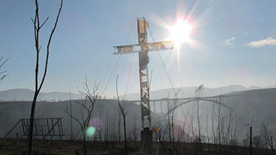 The 'Cross of Hope' will outshine Van Stadens fires