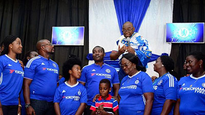 Ghana church holds Chelsea thanksgiving service