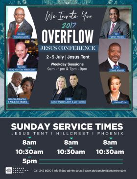 Overflow Jesus Conference in Durban