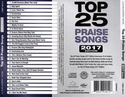 Top 25 Praise Songs 2017 Edition: Review