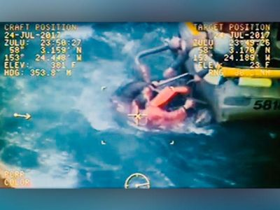 WATCH: Christian captain saves crewman from death