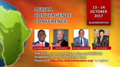 Bloemfontein conference aims to call Africa to rise to destiny