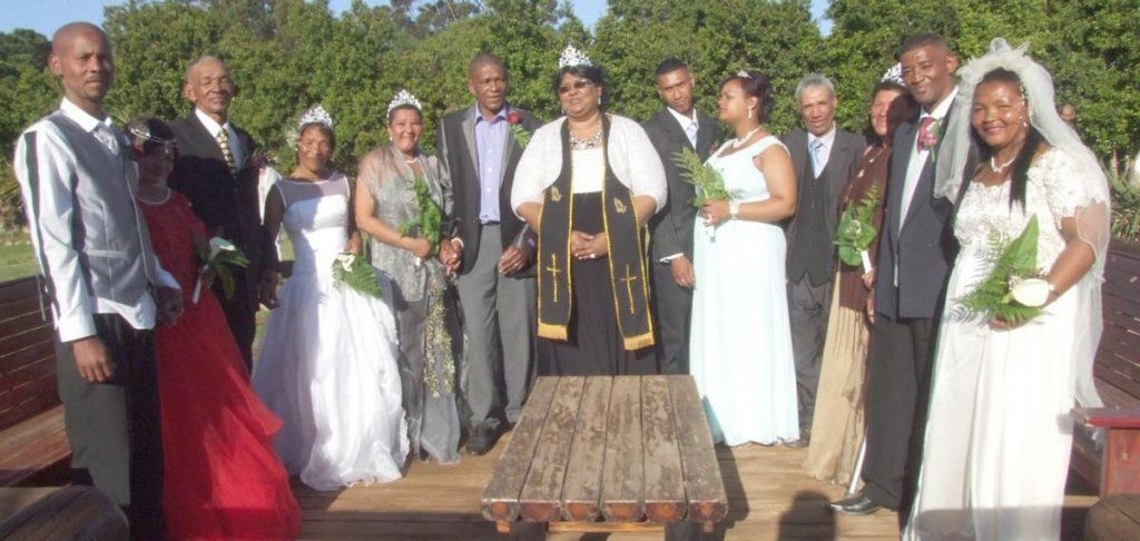 Maritzburg pastor marries six couples after receiving vision from God