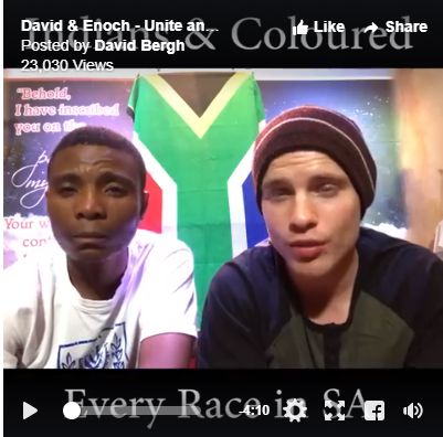 WATCH: Young men set example of racial harmony, Christian unity in face of SA violence