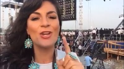 WATCH: Lindy-Ann reports live for Gateway News from Reinhard Bonnke's Farewell Crusade in Lagos