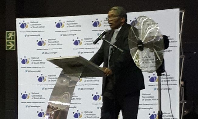 National Convention launched to reestablish SA values and standards