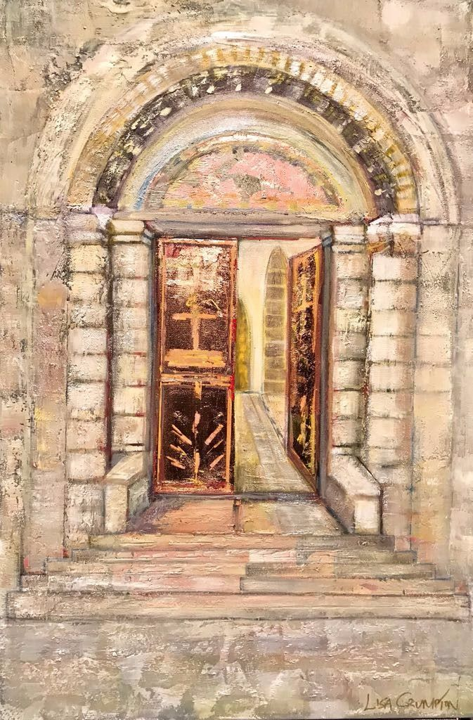 The Spirit is opening ancient doors to let the King of Glory in