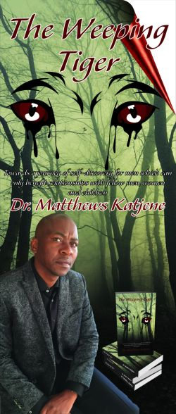 """The Weeping Tiger"" by Rev Dr Matthews Katjene aims to empower men to make a difference"