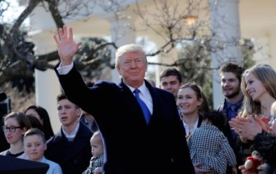President Trump declares January 22 'National sanctity of human life day'